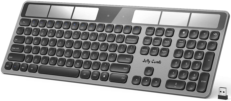 Jelly Comb K043 Wireless Solar Keyboard